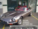 STOLEN VEHICLE ALERT! E-TYPE SER 3 OTS RESTORED MINT. AACHEN, GERMANY. OCTOBER 2004 Image source - http://www.jaguar-forum.de/forum/viewtopic.php?t=7808