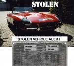 STOLEN VEHICLE ALERT. GERMANY
